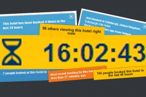 Hotels – how to use urgency to increase website conversion