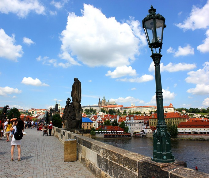Charles Bridge and St Vitus