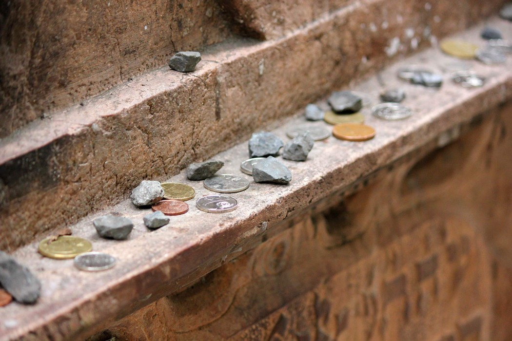 Old Jewish Cemetery Josefov Coins