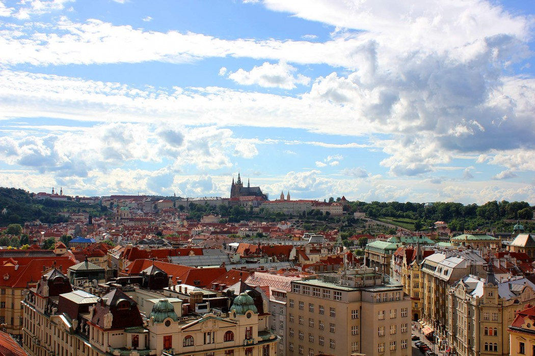 Praha Skyline