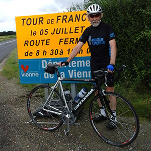 Robin Weston Tour de France